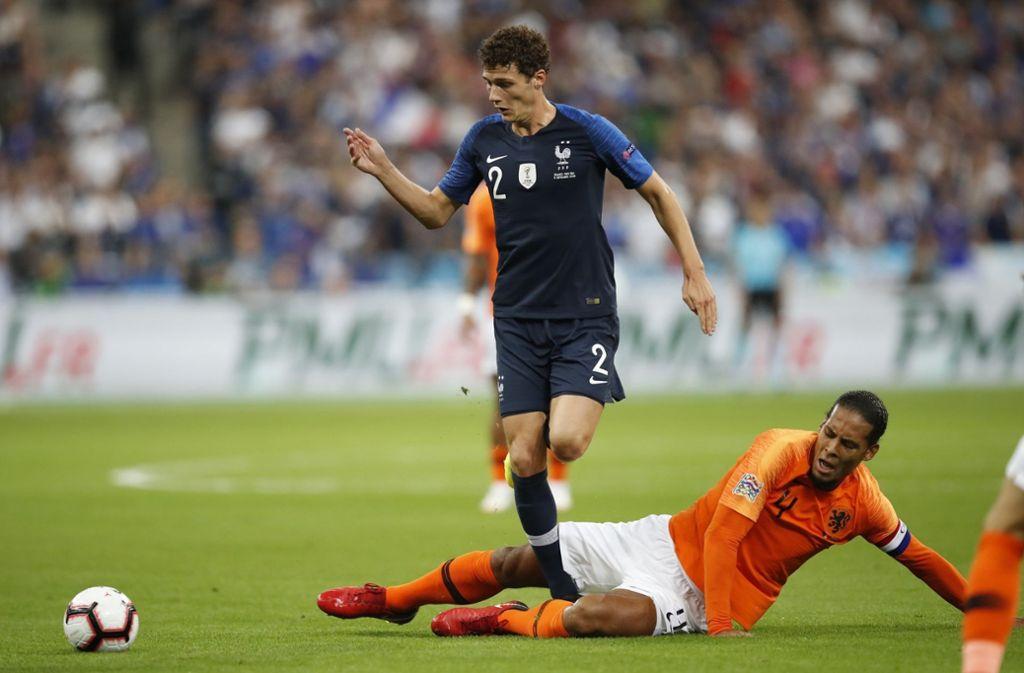 Benjamin Pavard vom VfB Stuttgart wird mit dem FC Barcelona in Verbindung gebracht. Foto: AP
