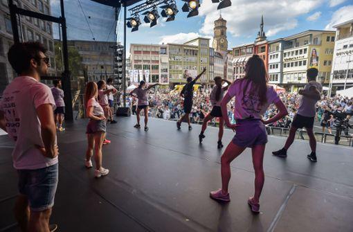 Stuttgart  wird wieder zur Tanzstadt