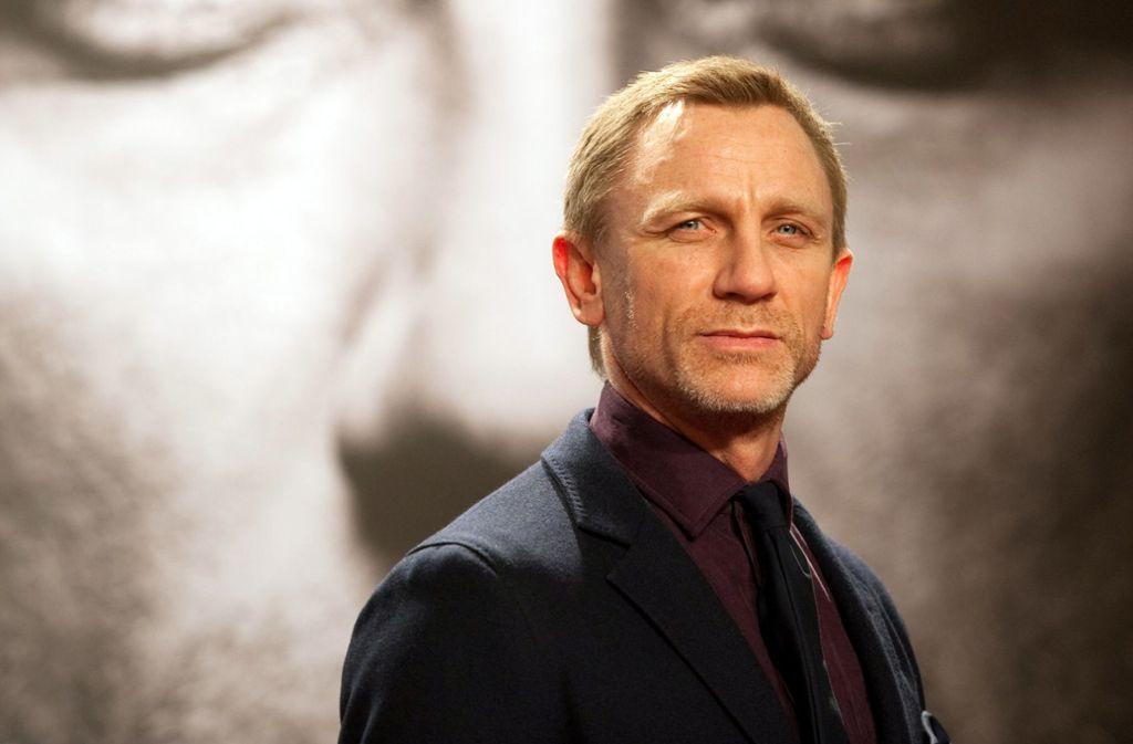 Daniel Craig (Bild) spielt ein letztes Mal James Bond – und Christoph Waltz gibt den Oberschurken Blofeld. Foto: dpa/Sebastian Kahnert