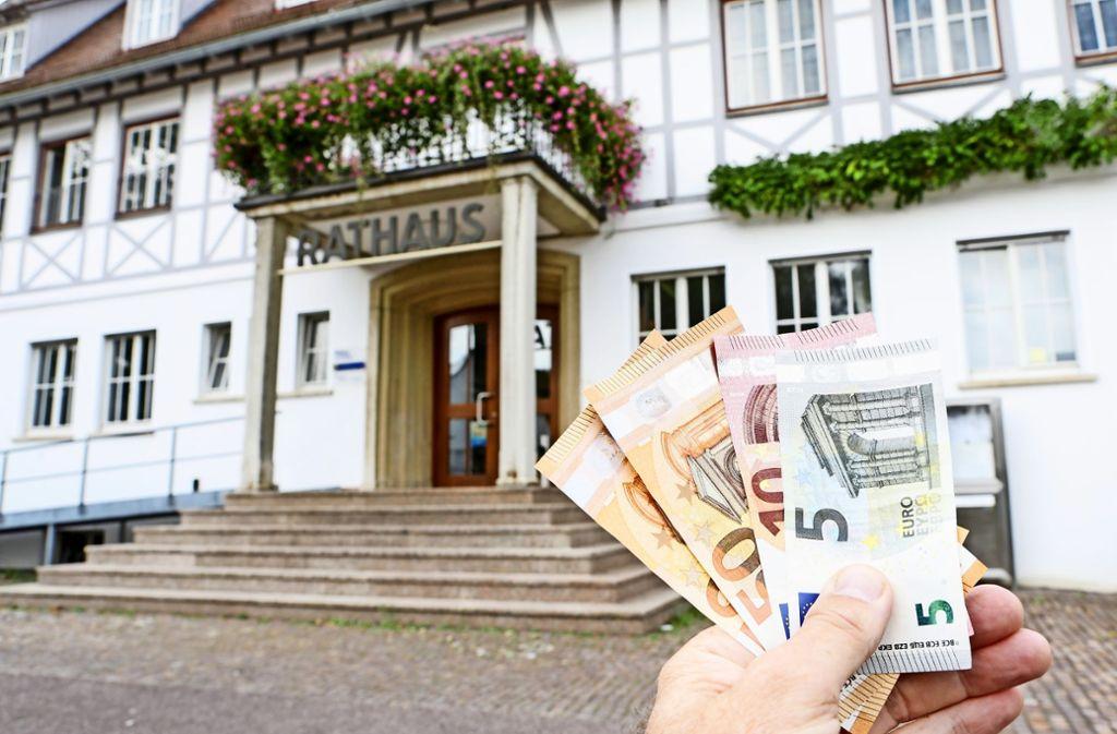 Die Stadt wird im nächsten Jahr vermutlich 126 Millionen Euro einnehmen. Foto: Archiv Krämer
