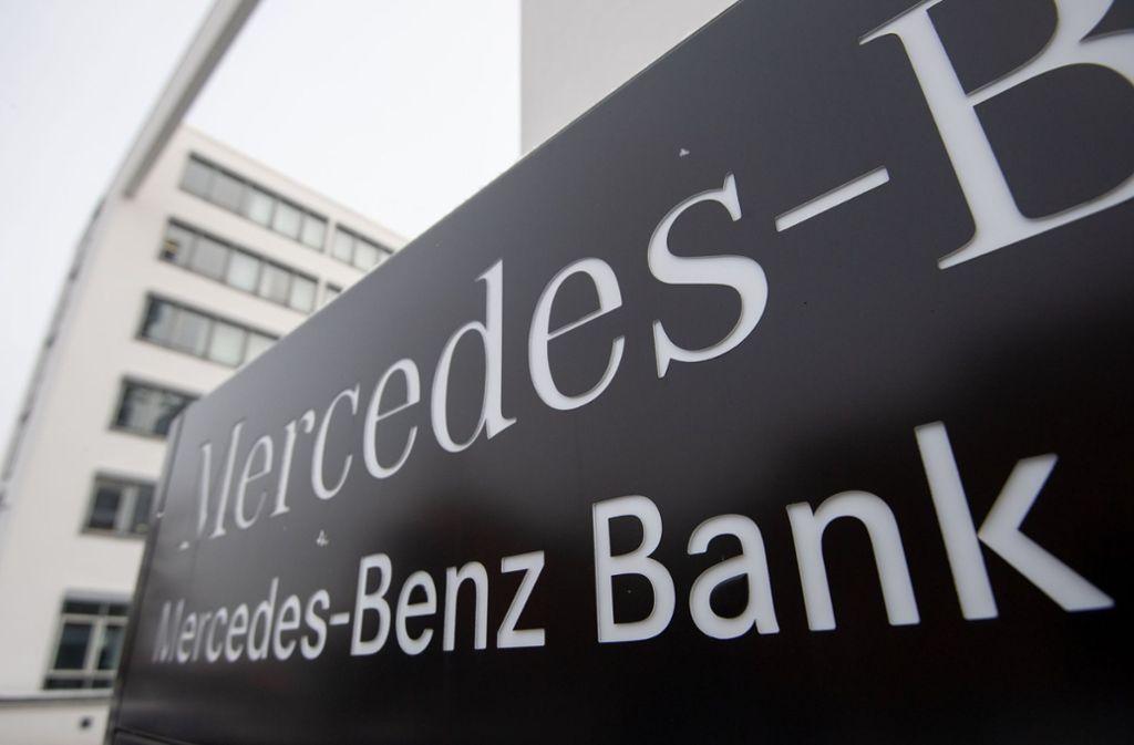 Die Klage gegen die Mercedes-Benz-Bank wurde erst gar nicht zugelassen. Foto: dpa