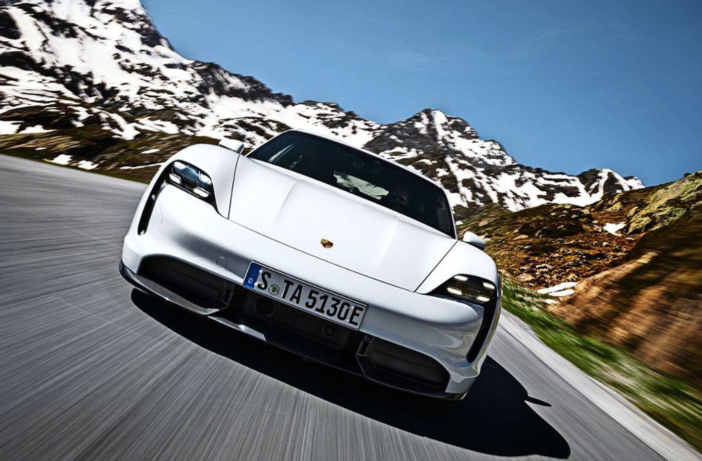 Der Werbespot ist Teil einer groß angelegten Marketing-Kampagne zum neuen Taycan. Foto: Porsche