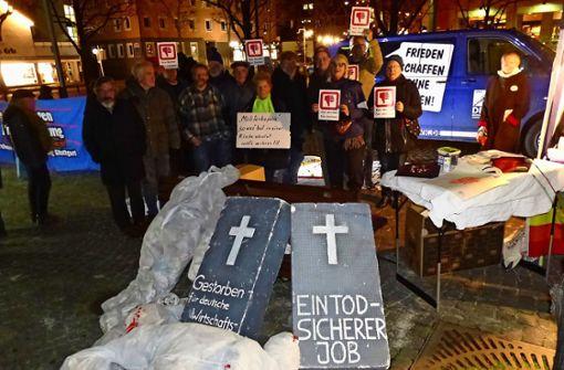Zum Spendenaufruf kommt Protest