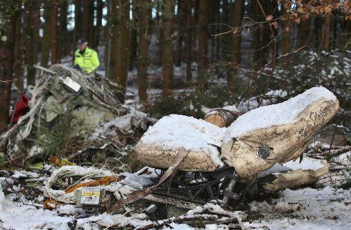 Flugzeugwrack geborgen - Untersuchung folgt