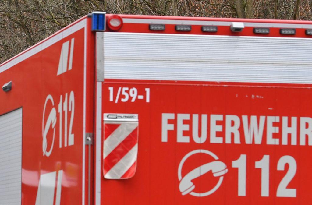 Die Feuerwehr musste den Obdachlosen aus dem Container befreien. (Symbolfoto) Foto: dpa-Zentralbild