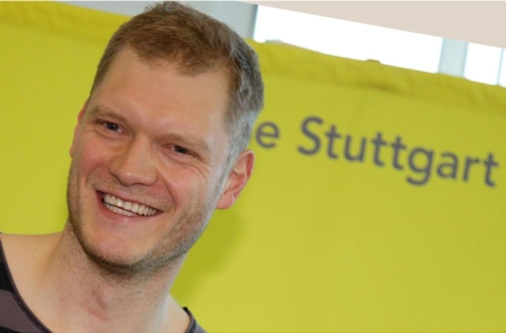 Der Torwart Johannes Bitter steht vor seinem ersten Spiel mit dem TVB Stuttgart. Foto: Baumann