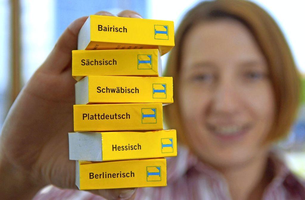 """Der Dialekt kommt ins Internet – mit einer Anwendung namens """"burble"""" lassen sich Webseiten ins Schwäbische, Fränkische, Sächsische und Berlinerische übersetzen Foto: dpa"""