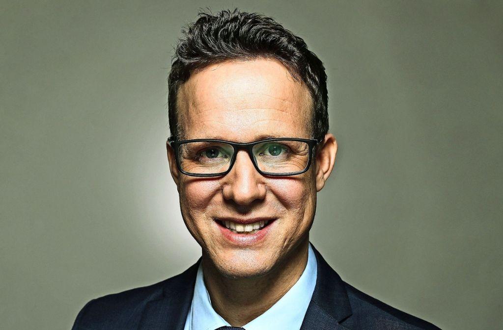 Der Richter Johannes Fridrich will am 5.Mai Oberbürgermeister von Nürtingen werden. Foto: privat