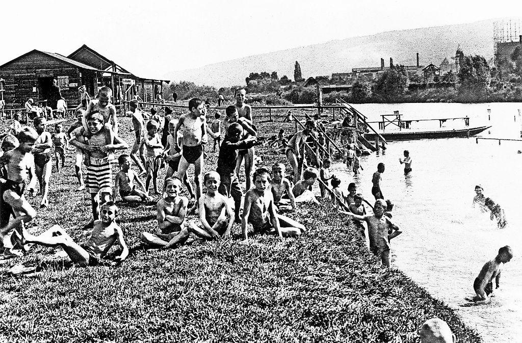 Eine Idee: Den Neckar wieder zum Baden zu nutzen – wie vor etwa 100 Jahren. Foto: