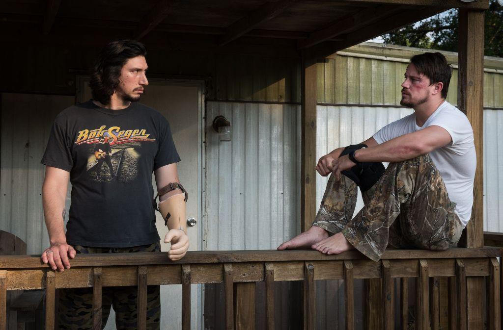 Clyde Logan (Adam Driver, links) und Jimmy Logan (Channing Tatum). Foto: Verleih