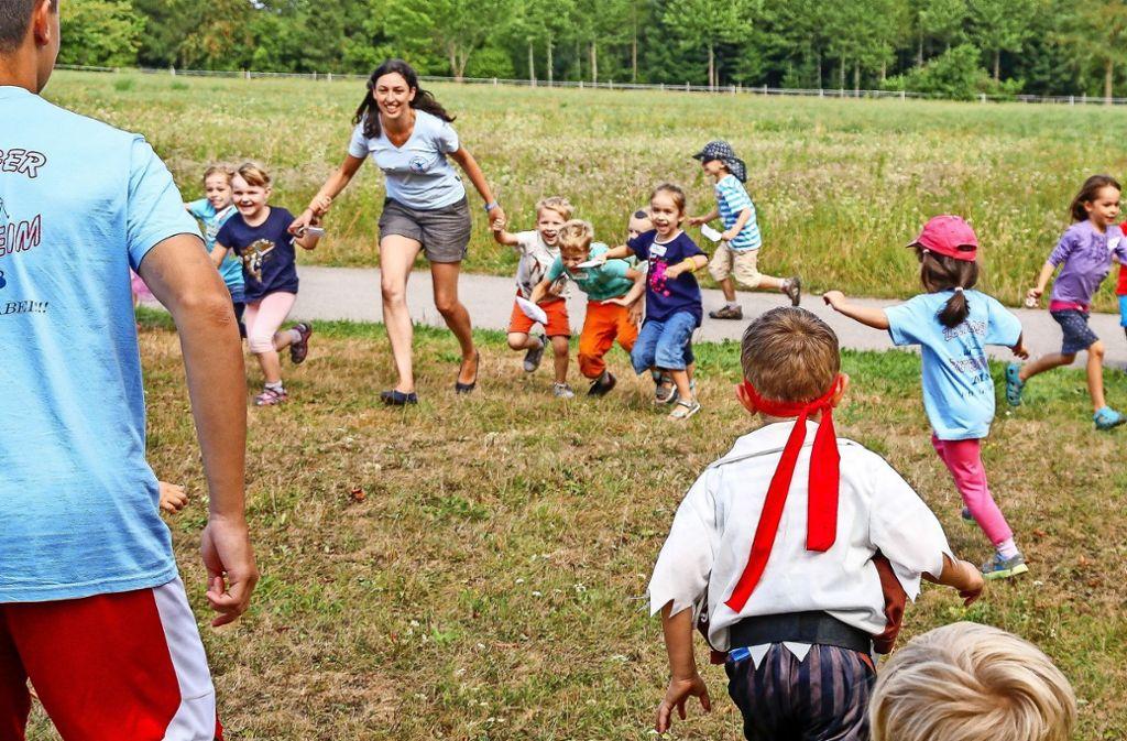 Die kleinen (und auch die großen Piraten) haben Spaß. Foto: factum/Granville
