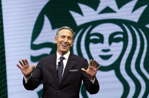 Howard Schultz will US-Präsident werden