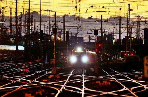 Bahnprogramm mit Schwächen