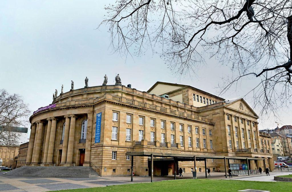 Die Sanierung der Stuttgarter Staatsoper – eine unendliche Geschichte? Foto: dpa