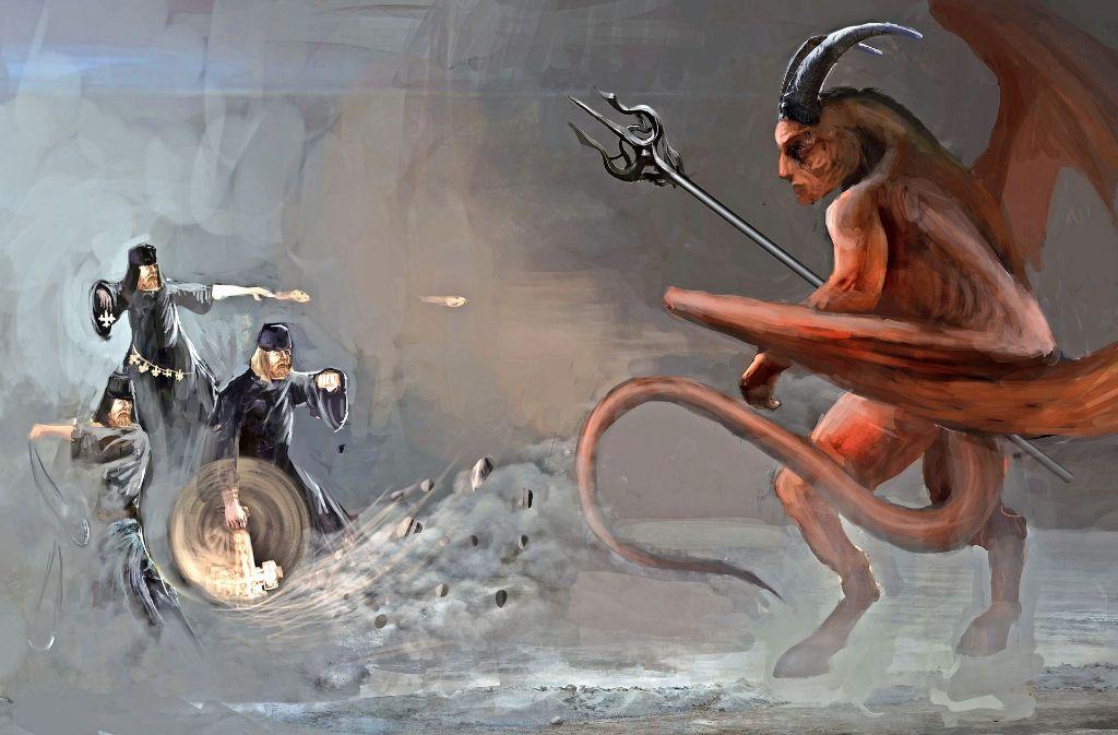 Er sei beim Satan in die Lehre gegangen, sagte  Adam Wagenhals . Foto: Adobe Stock/vukkostic