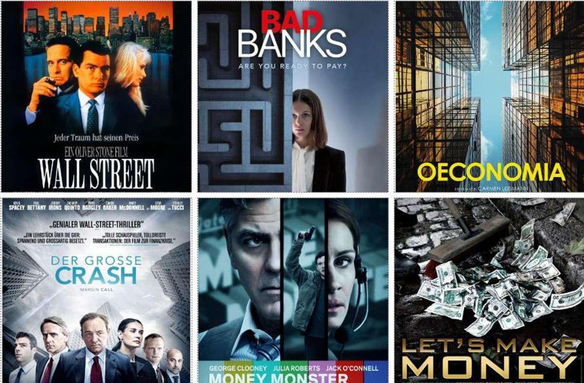 Einige Plakate von Filmen aus  unserer Liste Foto: Verleiher