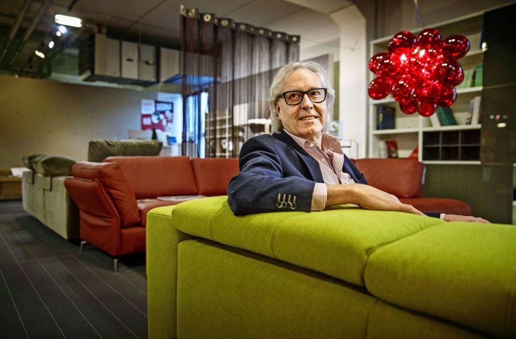 Der Noch-Geschäftsführer Eberhard Sorg will künftig mehr Golf spielen. Foto: Gottfried Stoppel
