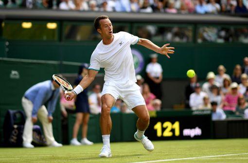 Philipp Kohlschreiber gegen Novak Djokovic ohne Chance