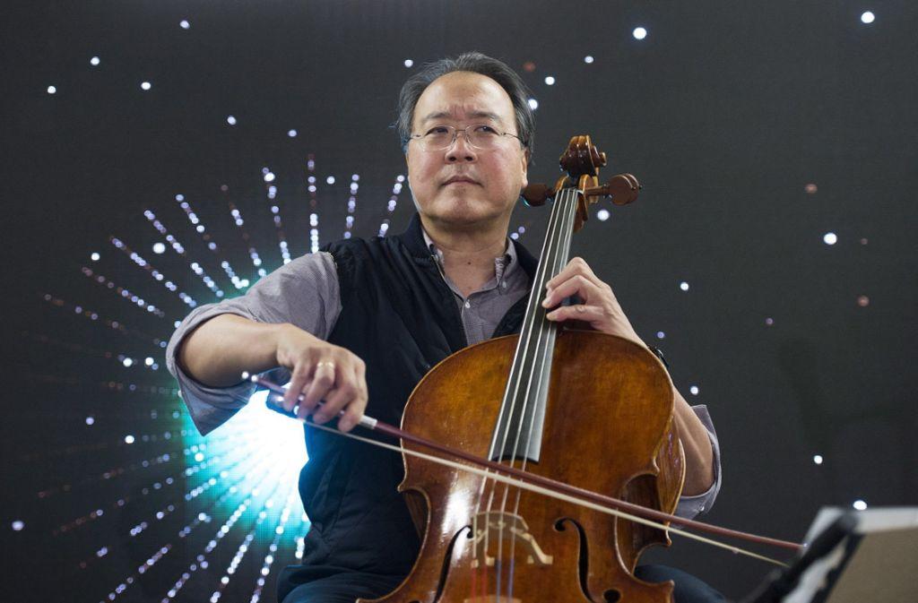Immer bei Bach: Yo-Yo Ma Foto: AP