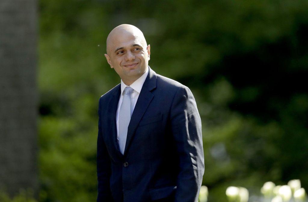Sajid Javid, Brite pakistanischer Herkunft, übernimmt einer der höchsten Regierungsämter in London. Foto: AP