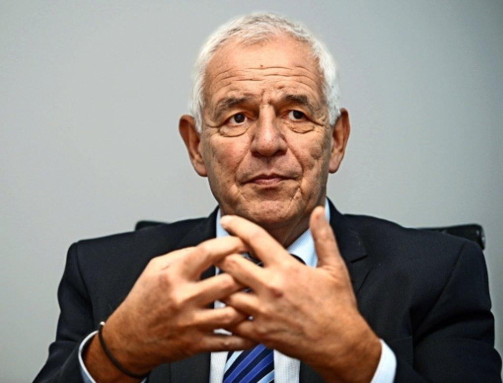 Gegen Rainer Stickelberger liegt ein Entlassungsantrag vor.  Foto: dpa