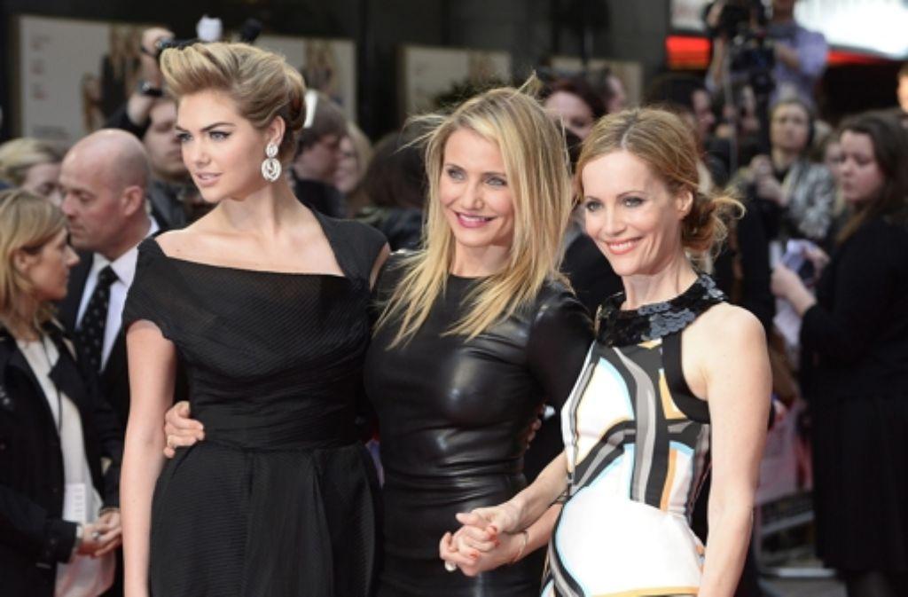 Die The Other Woman-Powerfrauen: Kate Upton, Cameron Diaz und Leslie Mann (von links) Foto: dpa
