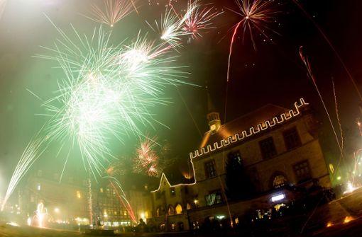Ist das Feuerwerk in Stuttgart gut zu sehen?