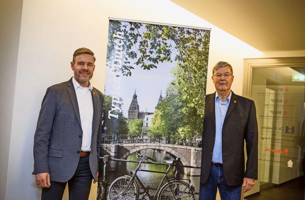 Holländer zu Hause in Schwaben: de Jong, Laverman Foto: Lg/Leif Piechowski
