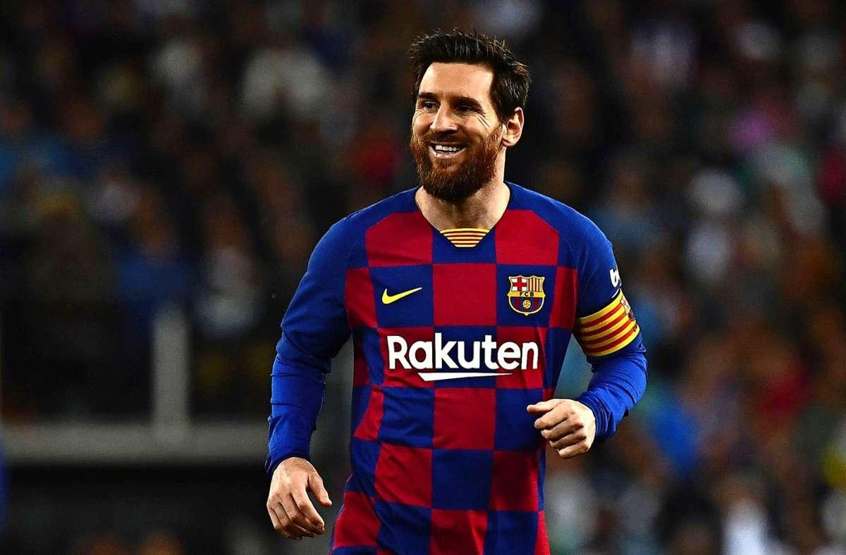 Angeblich fehlt nicht mehr viel zum neuen Vertrag von Lionel Messi beim FCBarcelona. (Archivbild) Foto: AFP/GABRIEL BOUYS