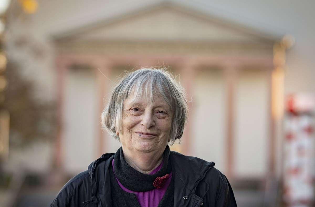 Die Lyrikerin Elke Erb macht Büchners innere Stimme vernehmbar. Foto: dpa/Frank Rumpenhorst