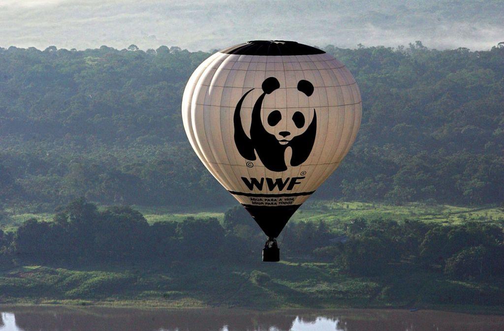 Der WWF setzt sich für den Schutz der Natur ein. Foto: AFP