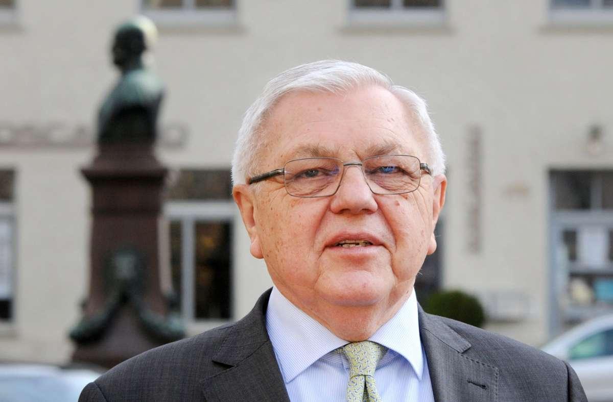 Harald Kujat sollte eine Art Aushängeschild bei Heckler & Koch werden – doch nun tritt der Ex-General zurücl. Foto: dpa/Wolf von Dewitz