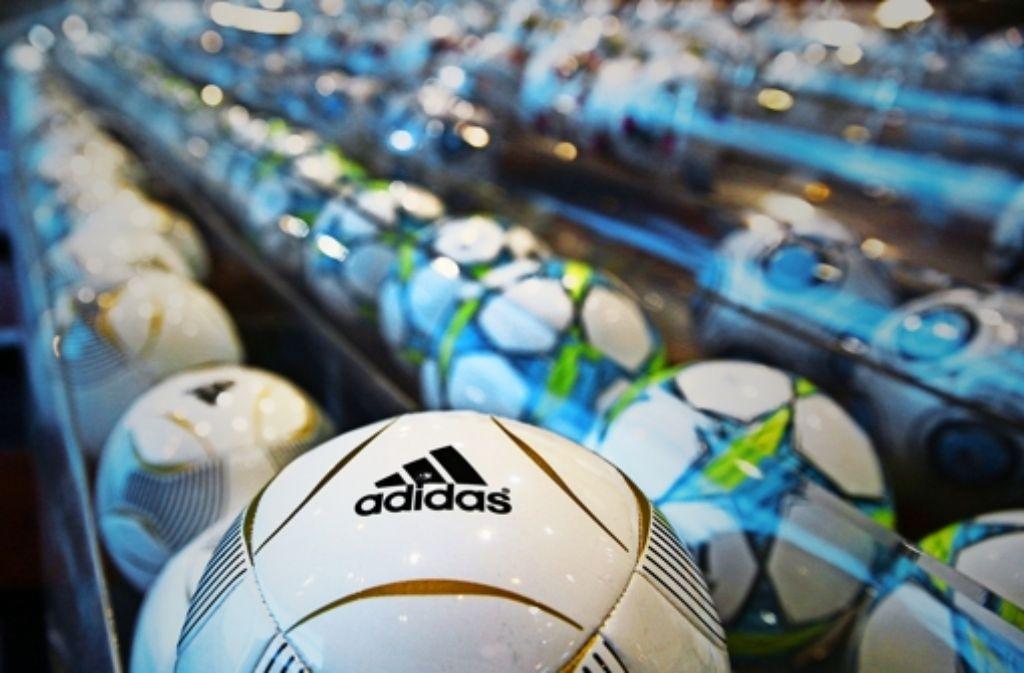 Adidas will im Kampf der Sportartikelriesen Boden gut machen gegenüber Nike. Foto: dpa