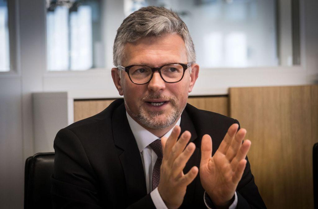 Der Jurist Andrij Melnyk ist seit Dezember 2014 Botschafter in Berlin. Foto: Lichtgut/Achim Zweygarth