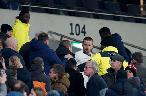 Tottenham-Profi nimmt sich Fan nach Beleidigung zur Brust