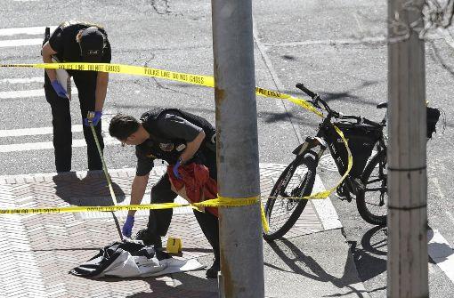 Drei Verletzte bei Schießerei