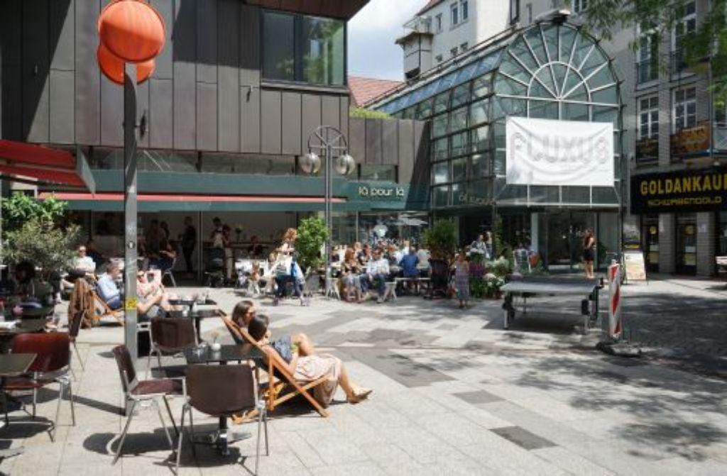Symbolbild: Leben im neuen Stuttgart. Fluxus sei Dank! Foto: Hannes Steim