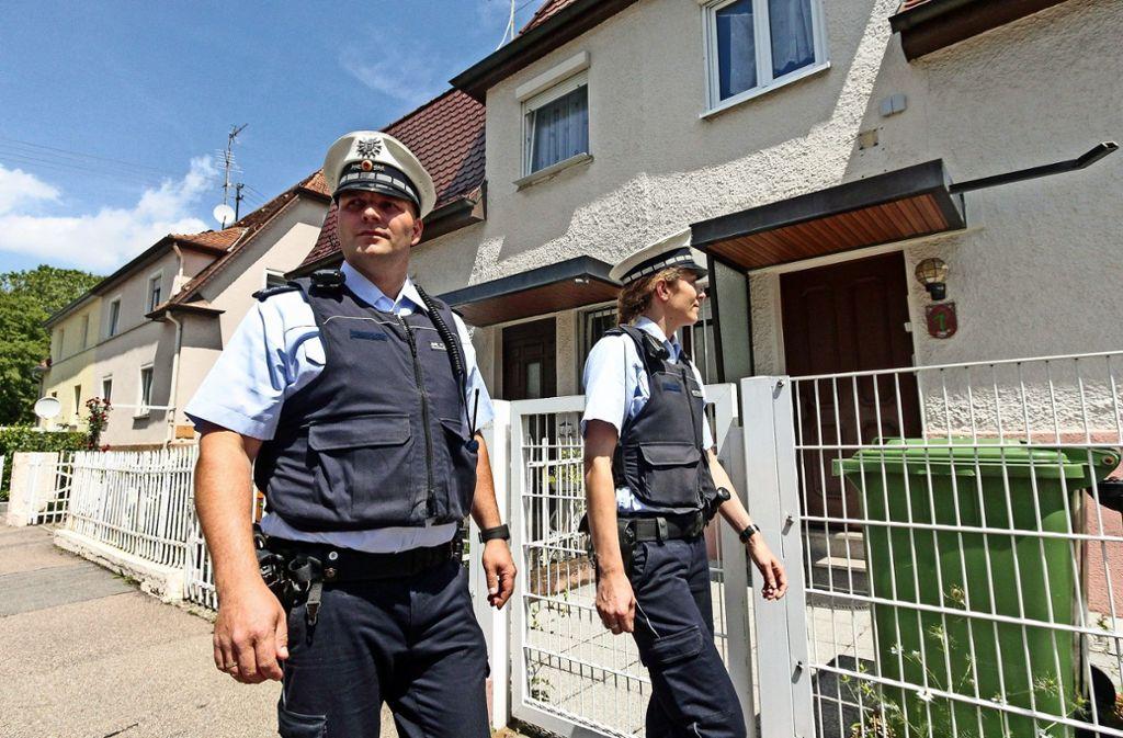 Wenn die Polizei mehr draußen unterwegs ist, passiert weniger – so lautet zumindest die Theorie. Foto: factum/Granville