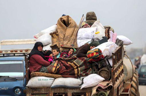 Syrische Flüchtlinge träumen von Stuttgart