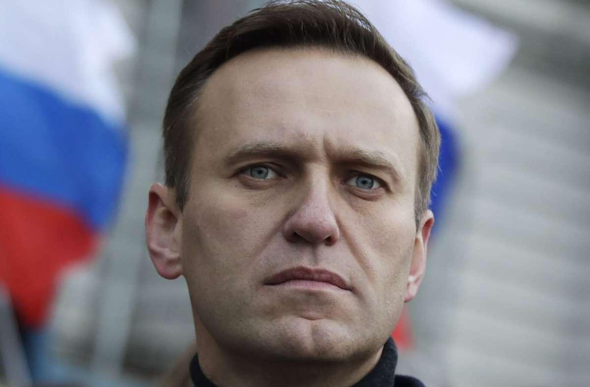 Kremlgegners Alexej Nawalny war nach seiner Rückkehr aus Deutschland nach Russland in einem Eilverfahren zu 30 Tagen Haft verurteilt worden. (Archivbild) Foto: dpa/Pavel Golovkin