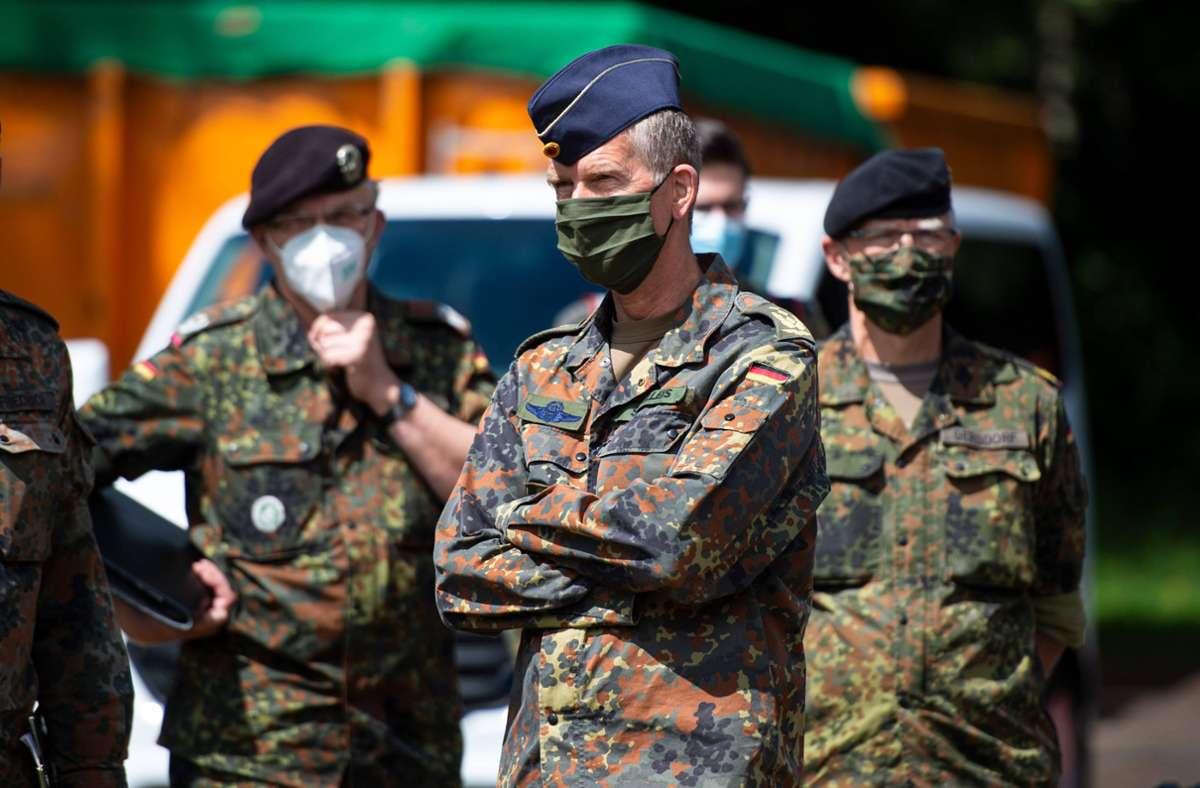 Bei der Verfolgung von Infektionsketten hofft die Stadt Stuttgart auf die Unterstützung der Bundeswehr. (Symbolbild) Foto: imago images/Noah Wedel/Noah Wedel via www.imago-images.de