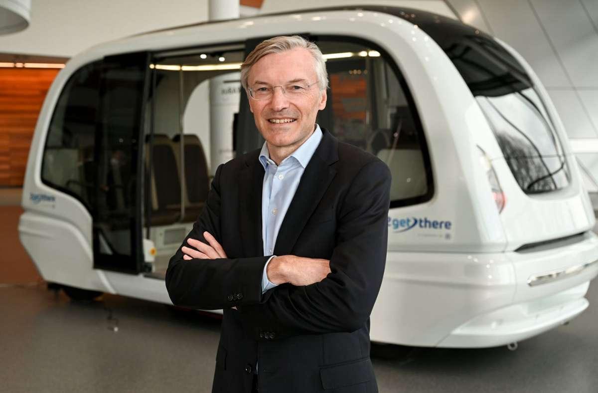 ZF-Chef Wolf-Henning Scheider führt den Konzern konsequent in die elektromobile Zukunft. Foto: dpa/Felix Kästle