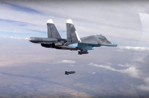 EU fordert Ende der russischen Luftangriffe