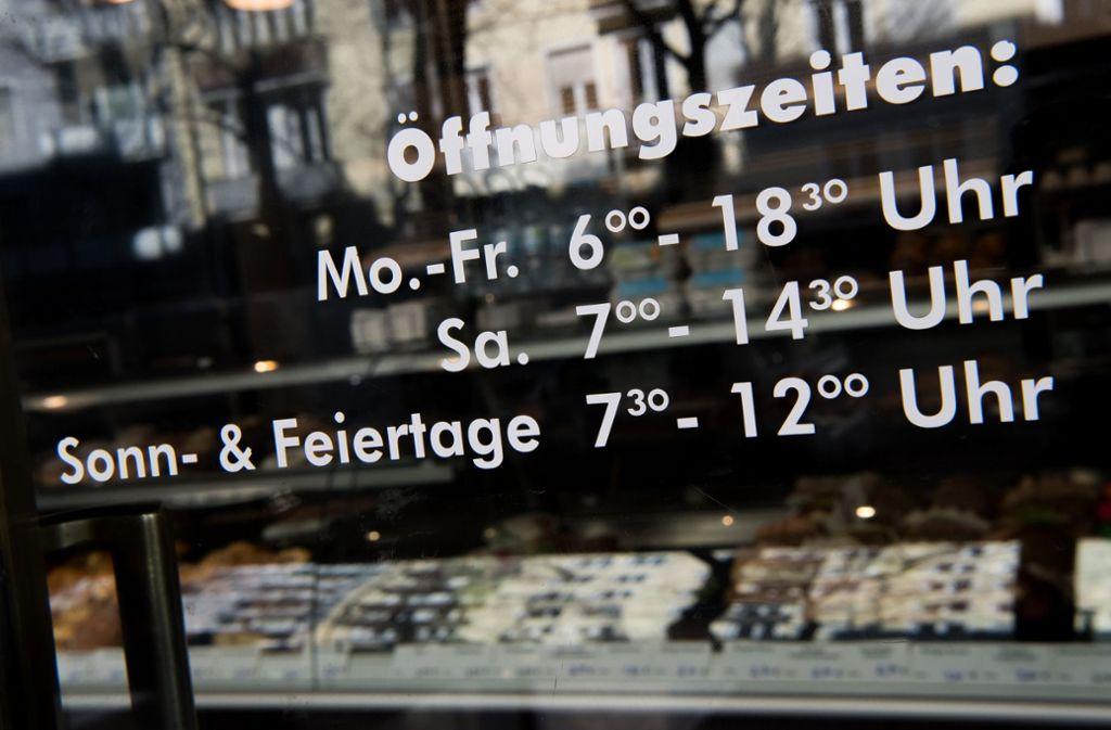 Auch an Sonn- und Feiertagen darf ein Bäckereikette in Bayern länger als drei Stunden öffnen. Foto: dpa
