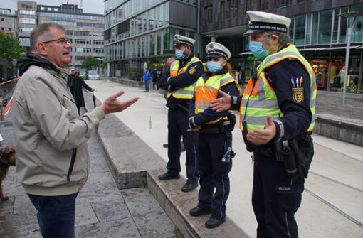 Polizei spürt Unmut der Bürger wegen Verordnungschaos