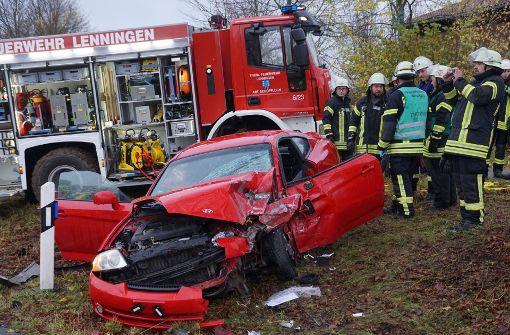 Mehrere Schwerverletzte bei  Unfall