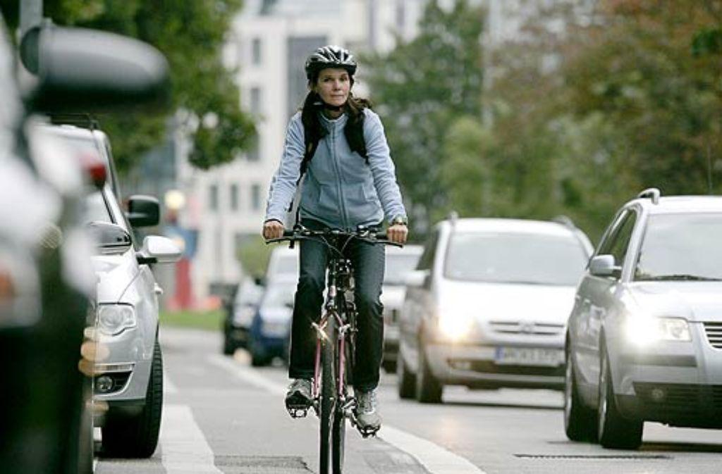 Probleme auf Radwegen: zu schnell oder in die falsche Richtung wird gefahren. Foto: Zweygarth