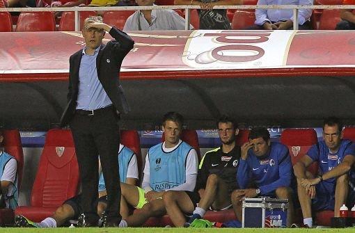 SC Freiburg verliert 0:2 in Sevilla