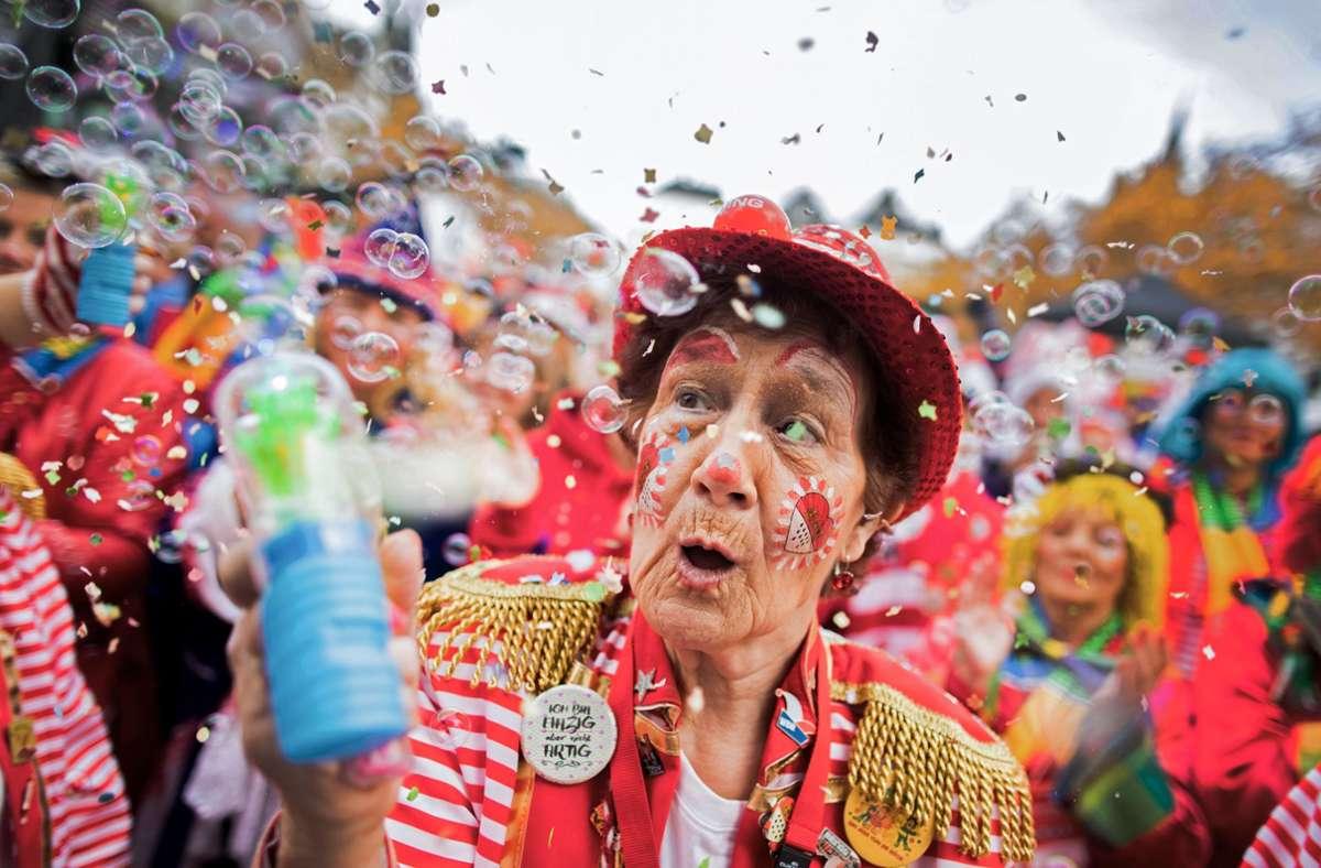 Solche Bilder wird es dieses Jahr in Köln nicht geben. Foto: dpa/Rolf Vennenbernd