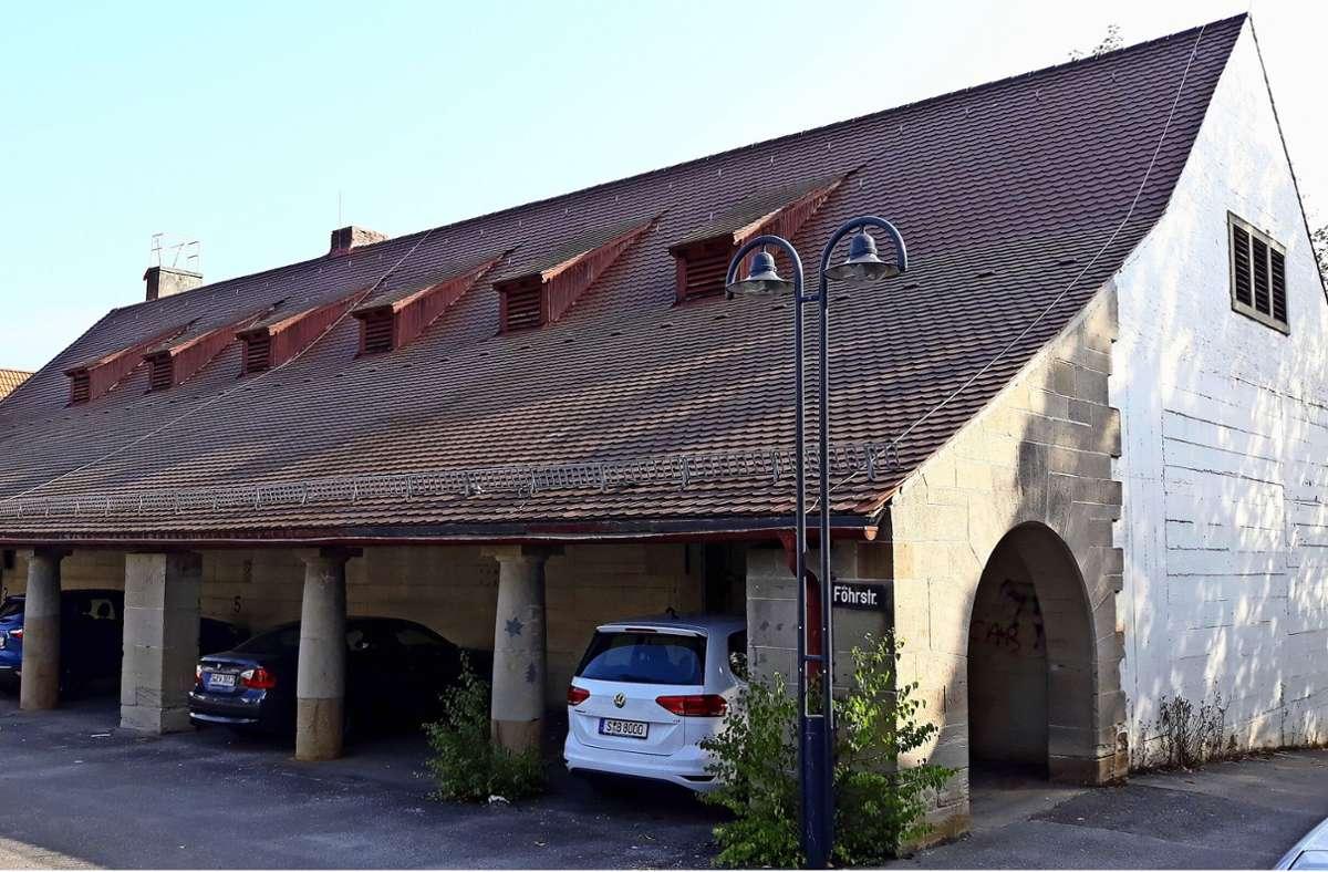 Der  Luftschutzbunker aus dem Jahr 1941 steht seit vielen Jahren leer. Foto: Archiv/Bernd Zeyer